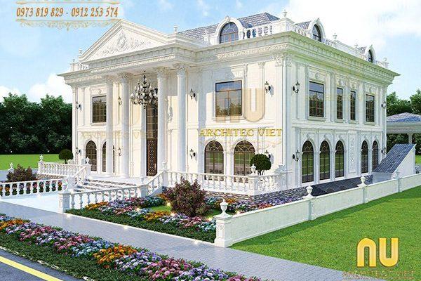 Thiết kế biệt thự tân cổ điển – Những giá trị còn mãi với thời gian