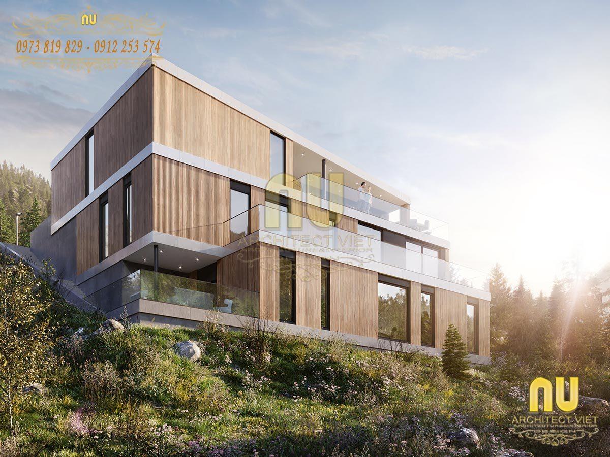 +25 Mẫu thiết kế biệt thự trên đồi sáng tạo độc đáo nhất 2019
