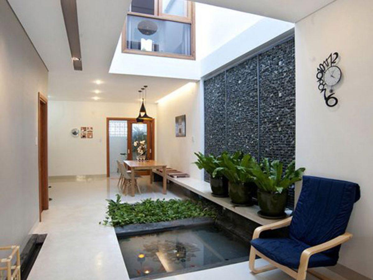 Thiết kế giếng trời trong nhà, phòng ngủ, phòng khách hợp phong thủy