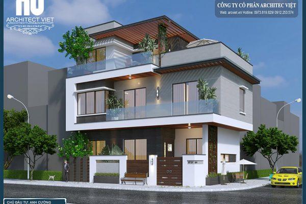 Thiết kế nhà 2 tầng 80m2 – Sự lựa chọn hoàn mỹ cho tổ ấm trong mơ