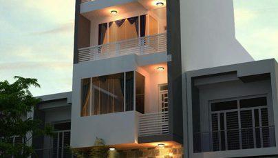 Thiết kế nhà ở 4 tầng đẹp diện tích 5x14m tại TPHCM