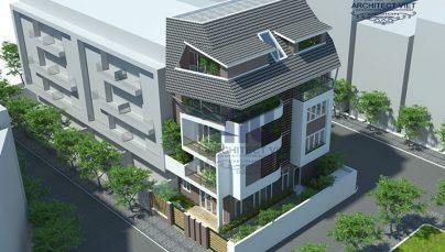Thiết kế nhà ở 5 tầng đẹp 7x12m – Không gian nhà đẹp