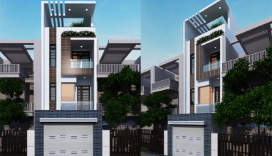 Tham khảo thiết kế nhà phố 4 tầng 4x16m đẹp hoàn hảo dưới mọi góc nhìn