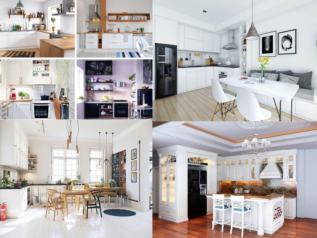 Ý tưởng thiết kế nội thất nhà bếp nhỏ dự đoán làm mưa làm gió 2019