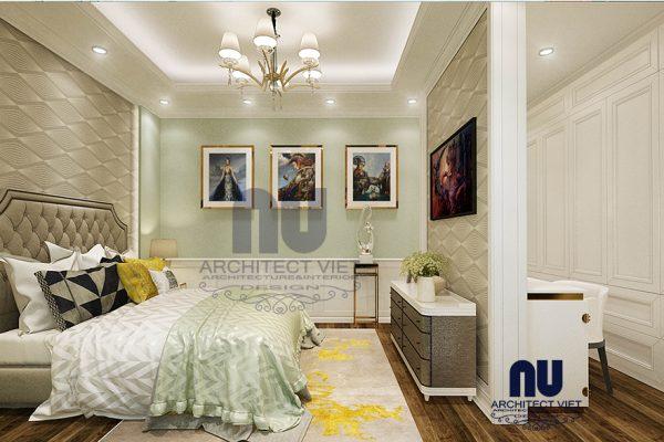 Thiết kế nhà phố 5 tầng 53m2 phong cách tân cổ điển tại Long Biên