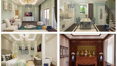 Thiết kế nội thất nhà phố 5 tầng 53m2 tại Long Biên