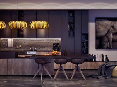 Thiết kế nội thất phòng bếp đẹp, đơn giản