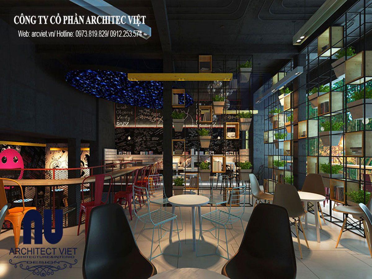 Thiết kế nội thất quán trà sữa nổi bật cả một khu phố Hà Nội 2019