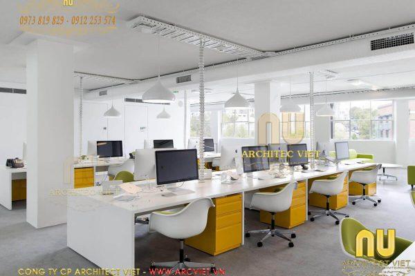 Thiết kế văn phòng đẹp với ý tưởng sáng tạo nhất 2019