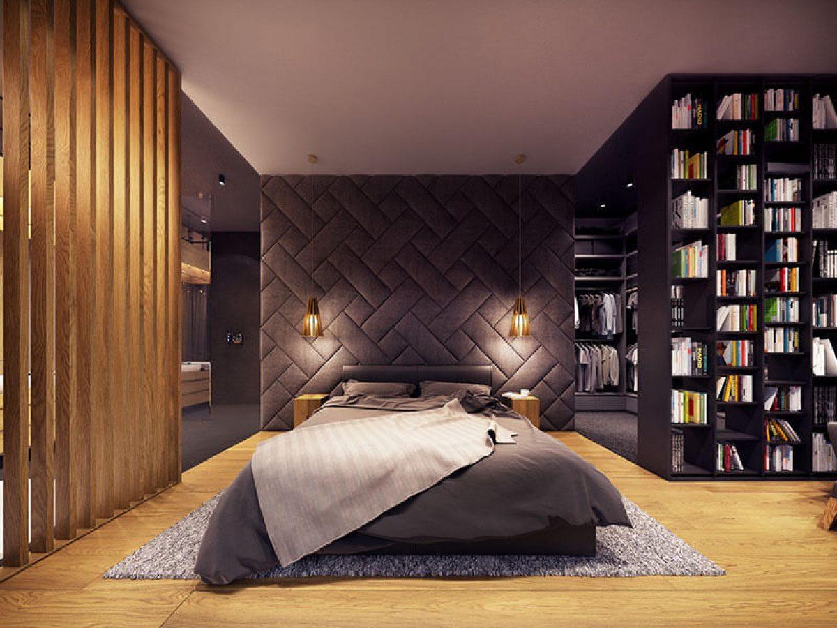 5+ ý tưởng thiết kế phòng ngủ màu đen sáng tạo và cực ấn tượng