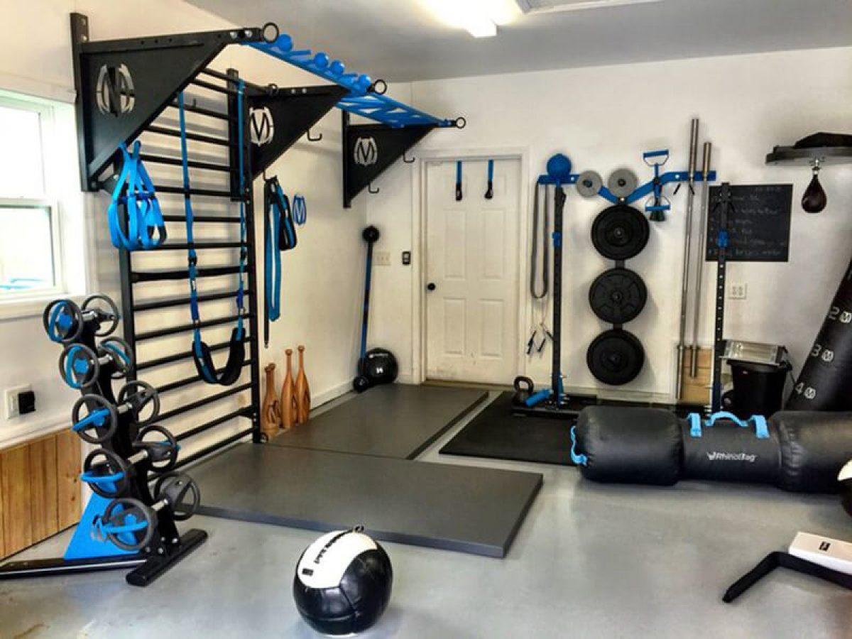 Thiết kế phòng tập gym tại nhà với 5+ ý tưởng độc đáo sau đây