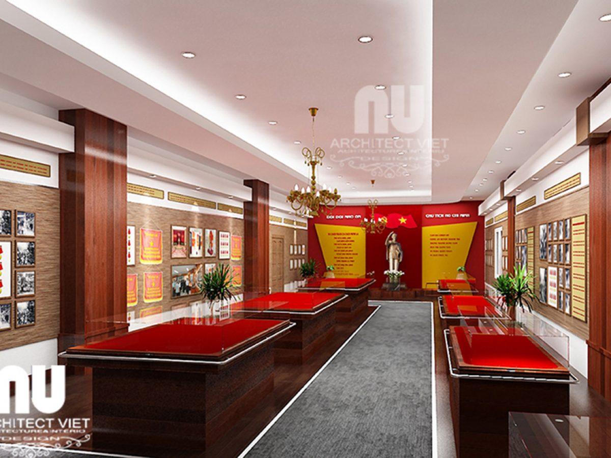 Thiết kế mẫu phòng truyền thống đẹp tại công ty kiến trúc Arc Việt