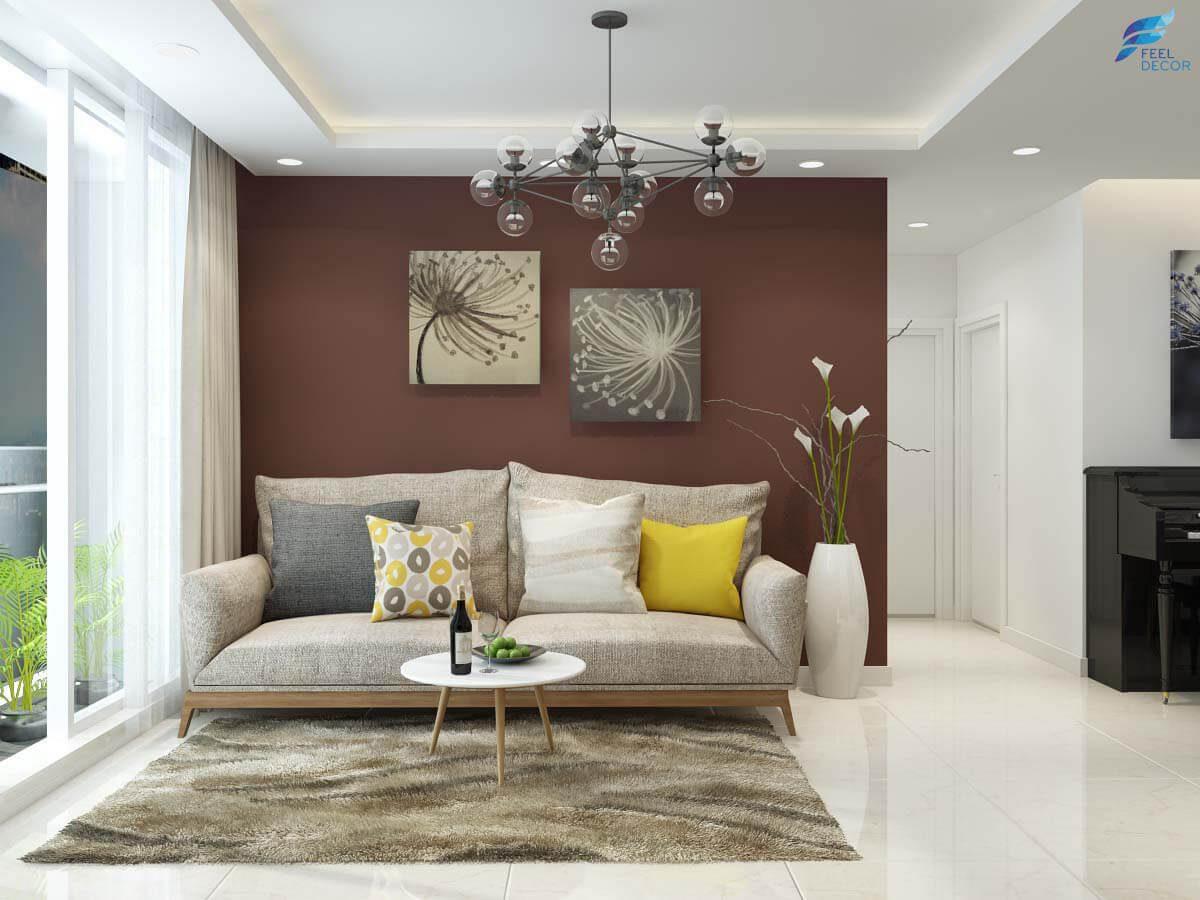 10 mẫu phòng khách chung cư đẹp 2019 xứng đáng được vinh danh