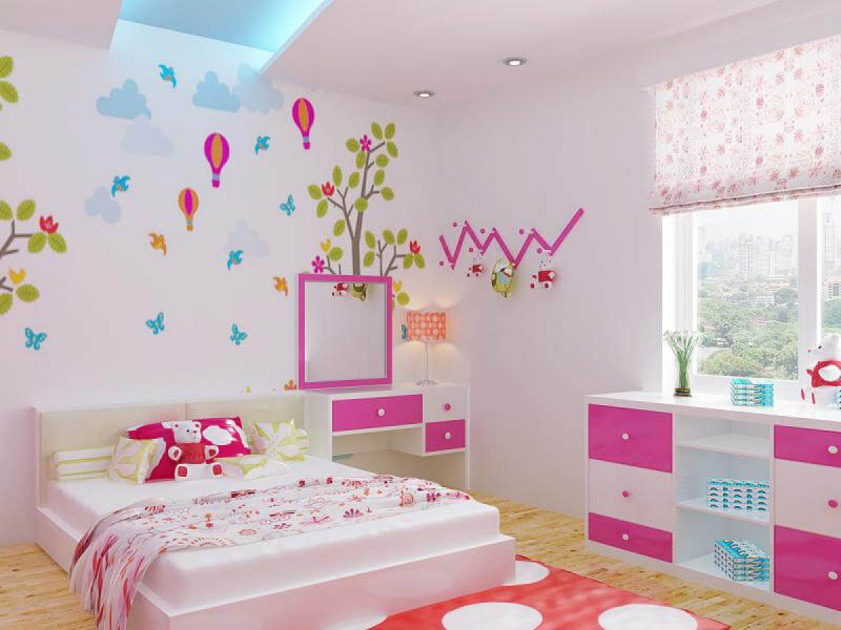 Trang trí phòng ngủ cho trẻ cực sáng tạo giúp chắp cánh mọi ước mơ