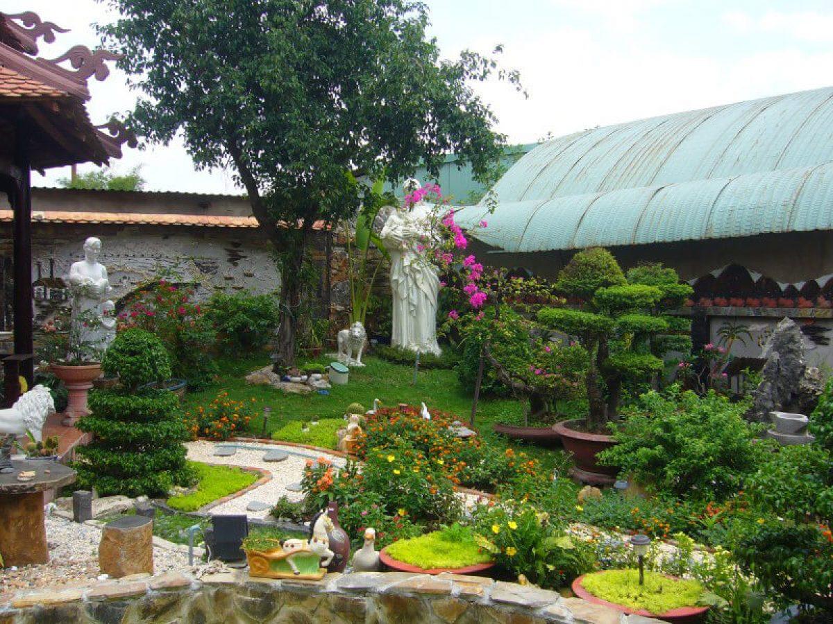Trang trí sân vườn đẹp cho ngôi nhà trong mơ, mang đậm dấu ấn cá nhân